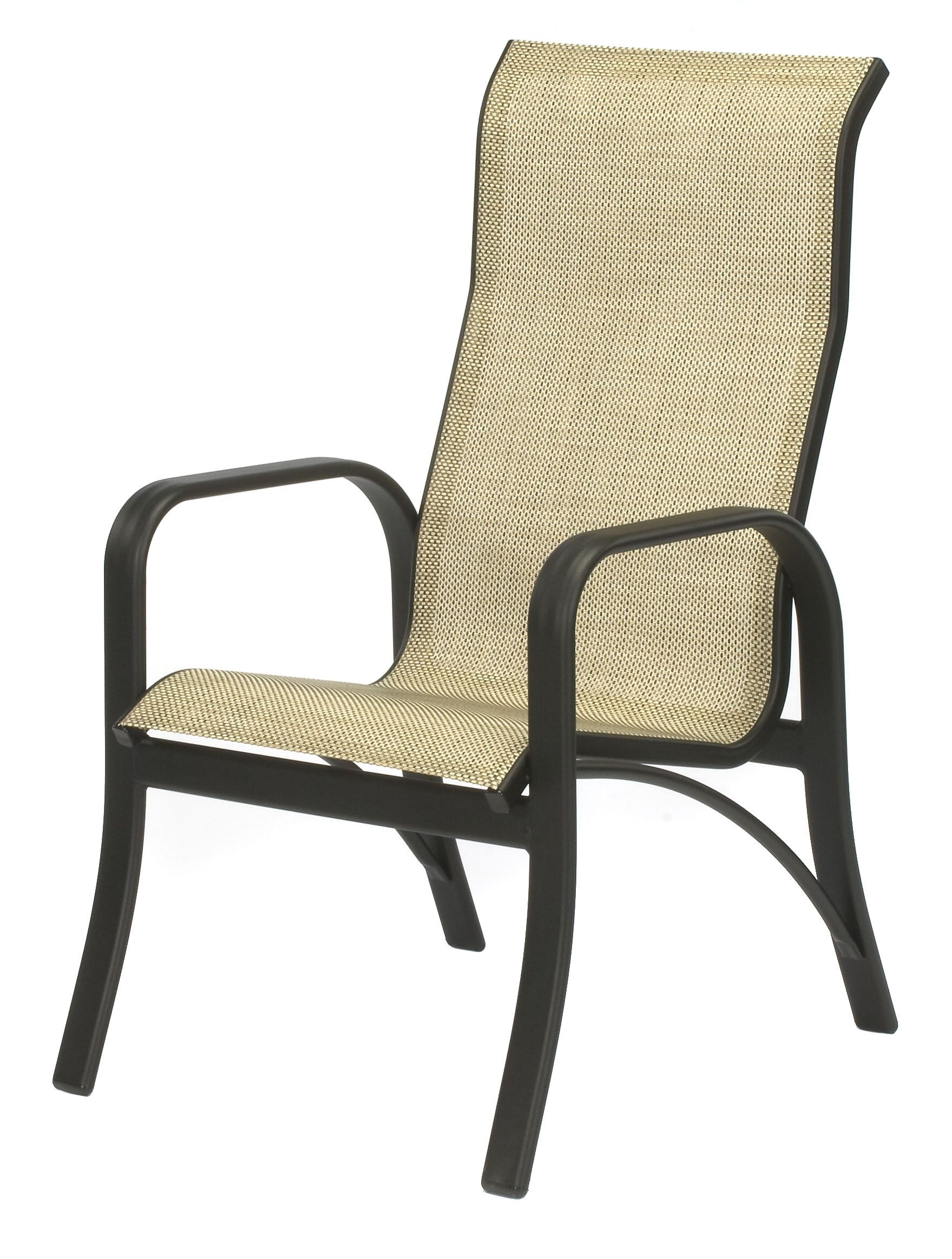 Patio Furniture Sling Back Chairs