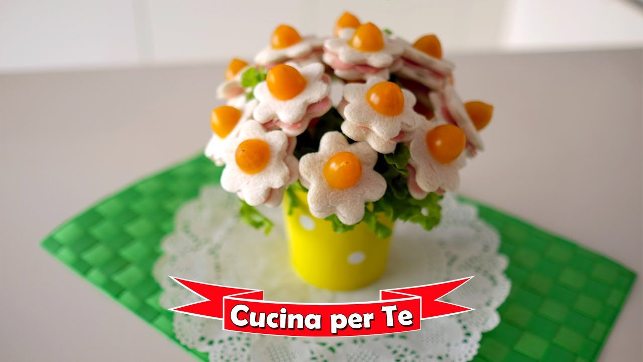 Bouquet di Tramezzini (Tutorial) - Antipasti creativi