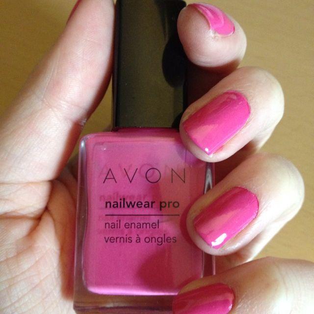 Avon Pink Nail Polish: Avon Nailwear Pro: Viva Pink
