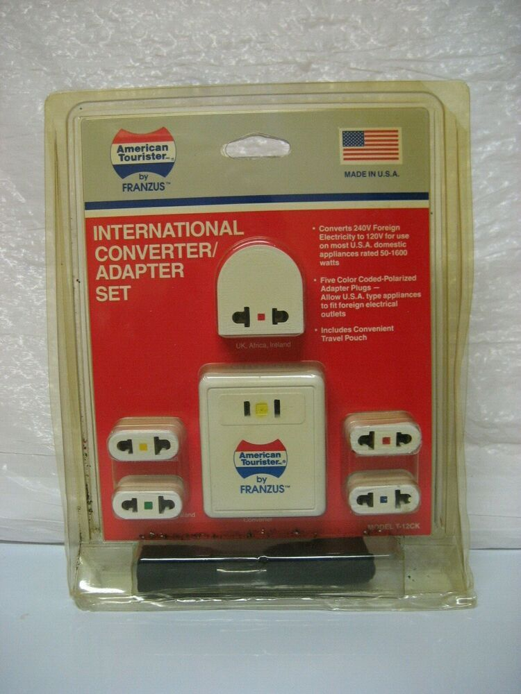 American Tourister International Converter Adapter Set Americantourister In 2020 American Tourister Universal Travel Adapter Converter