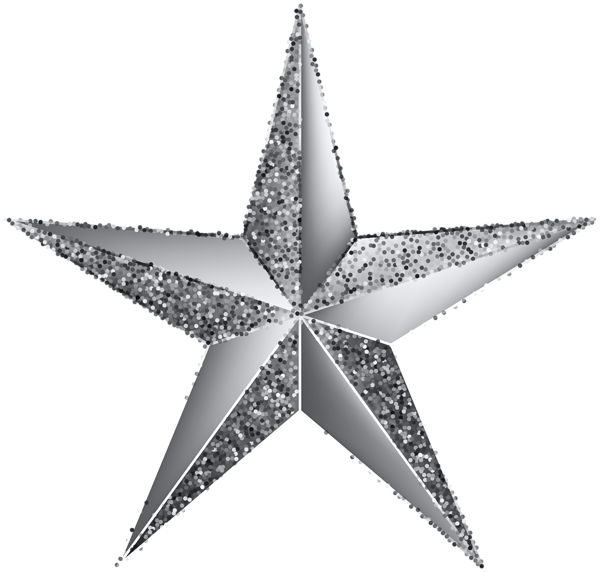 Silver Star Transparent Clip Art Image Art Images Silver Stars Clip Art