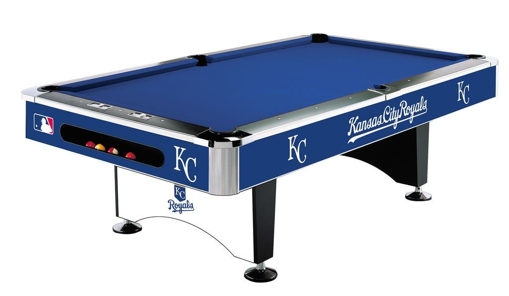 171 & Kansas City Royals Pool Table | places | 8 pool table 8ft ...