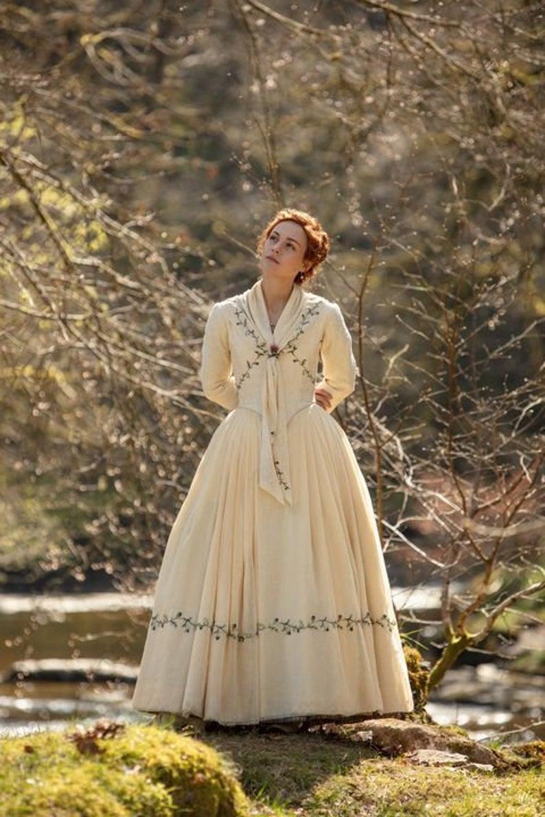 Bree Season 5 Outlander Claire Wedding Bridal Dress Replica Etsy Outlander Wedding Outlander Costumes Fashion
