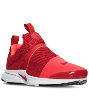 679658300726 Nike Boys  Presto Extreme Running Sneakers from Finish Line - Red ...