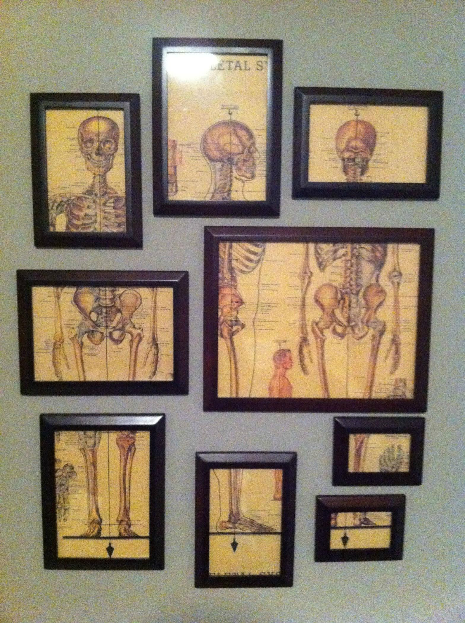 my 15 art wall art doctor days pinterest vintage medical