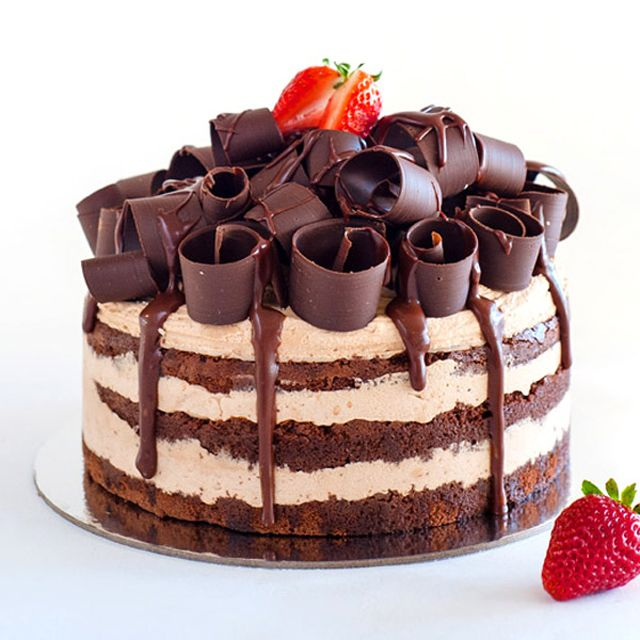 Chocolate Truffle Layer Cake Cake Design And Decoration Ideas