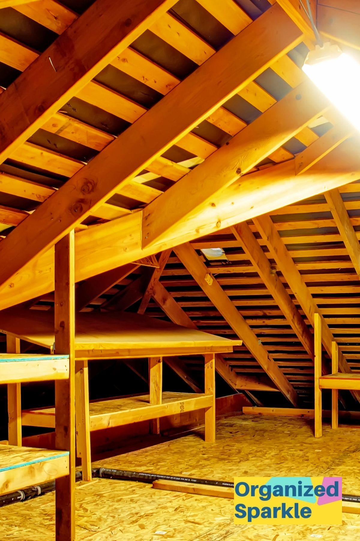 How To Organize The Attic Tips For Decluttering Your Attic In 2020 Attic Storage Organization Declutter Attic Organization