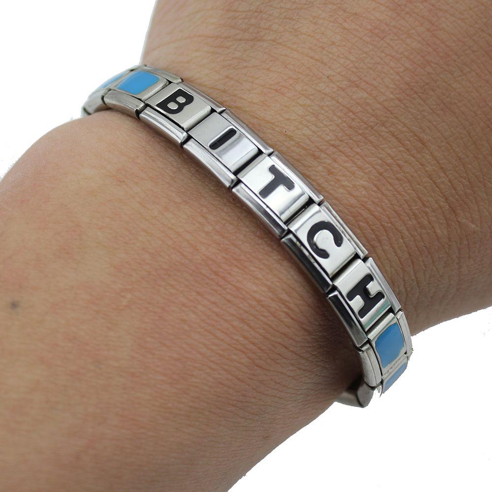 new top women menus elastic l stainless steel bracelet
