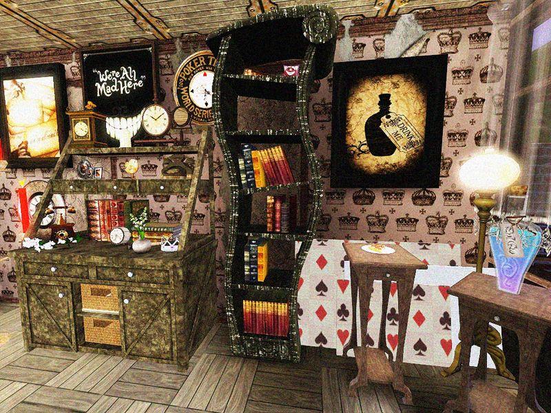 Pin By Jessica Jacomini Rocha Lemos On Casa Alice In Wonderland Room Bedroom