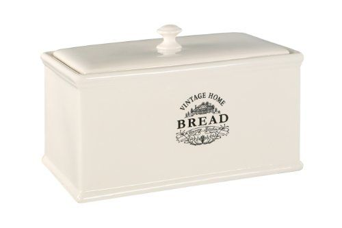 Premier Housewares Vintage Home Bread Box Cream Premier Housewares Http Www Amazon Co Uk Dp B006y7w0wy Ref Cm Sw R Pi D Bread Bin Bread Boxes Vintage House