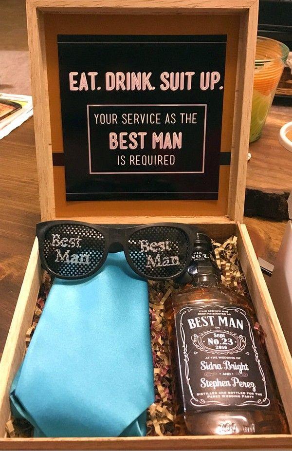 Unique Best Man Groomsmen Gift Ideas