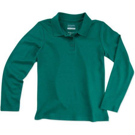 Dockers Big Girls  Plus-Size Short Sleeve Interlock Polo with Pico
