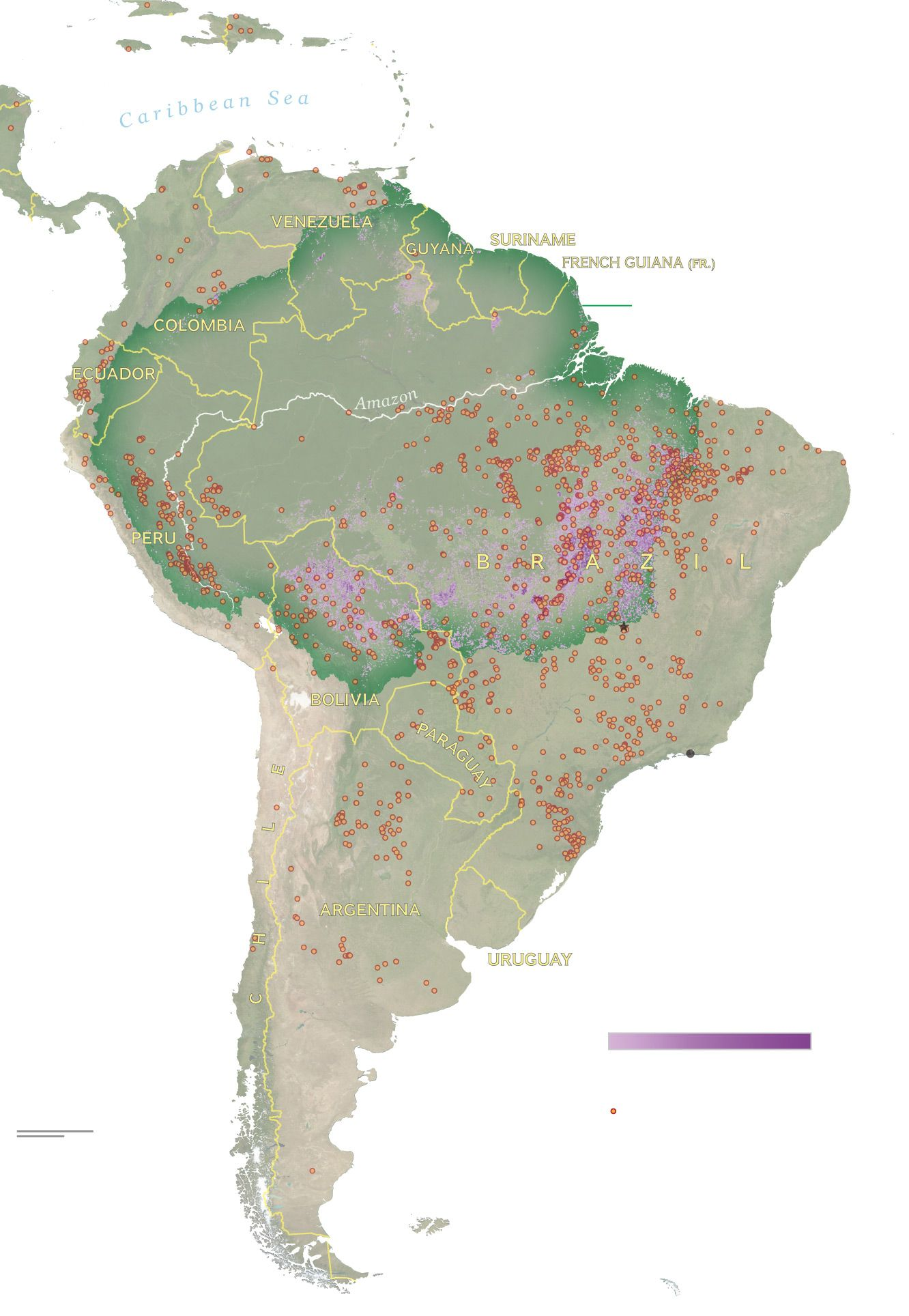 See How Much Of The Amazon Is Burning How It Compares To Other