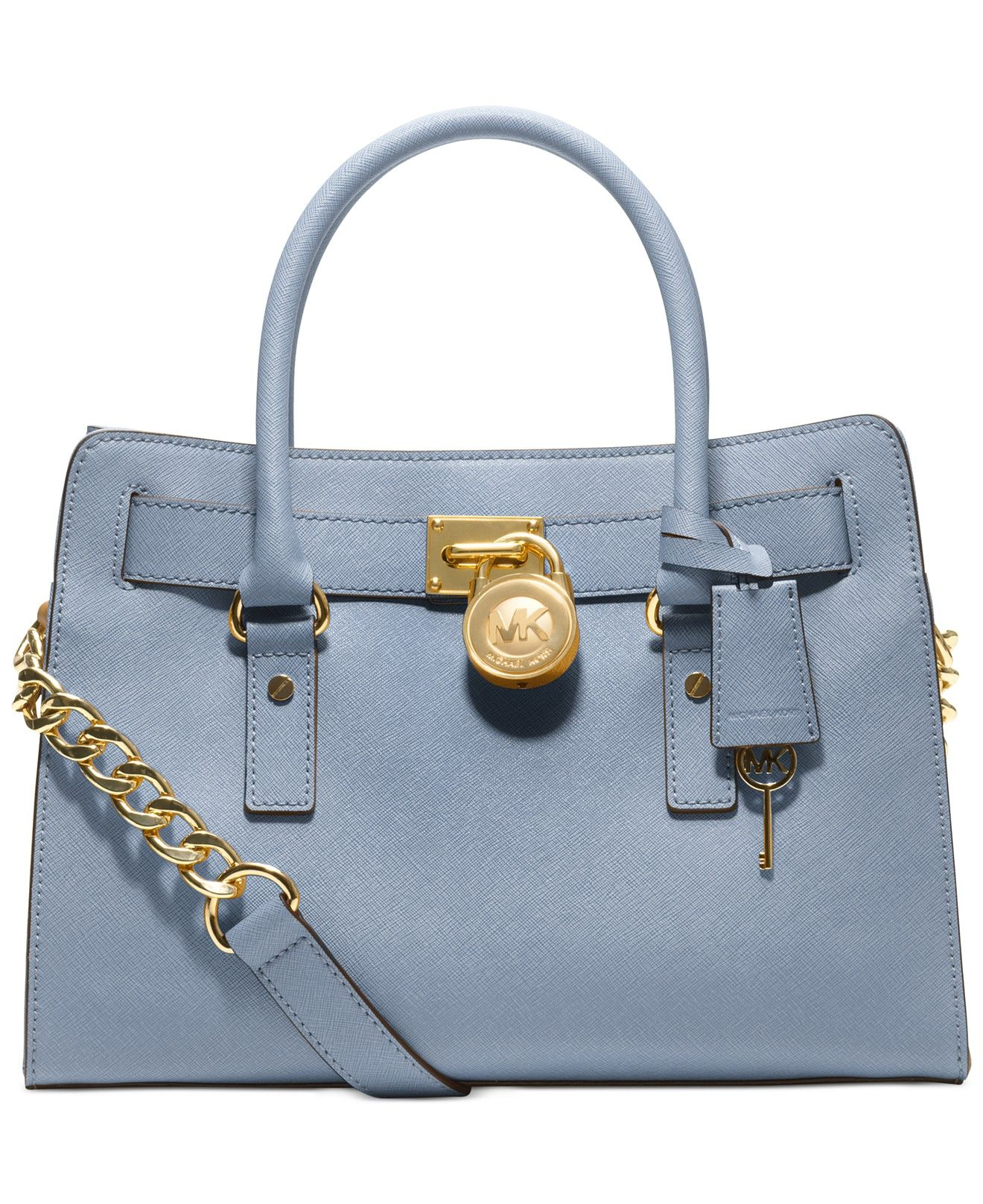 9d656560e068e0 ... MICHAEL Michael Kors Hamilton Saffiano Leather East West Satchel -  Handbags Accessories - Macys ...