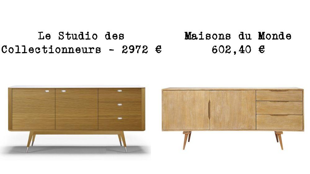 Le Meme En Moins Cher Une Enfilade Scandinave Cuisine Bois Cuisine Moderne Design Buffet Cuisine