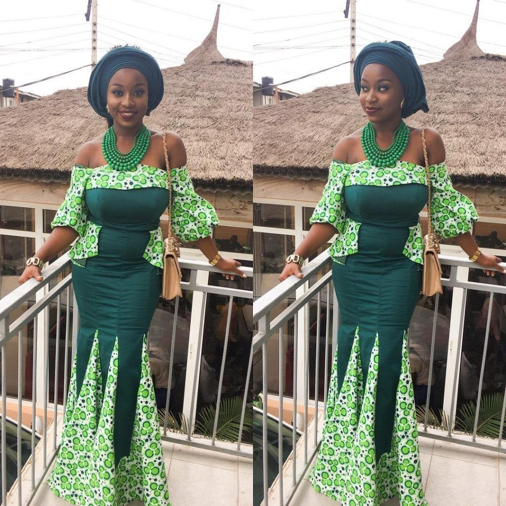 When it comes to ankara style looks weuve got you covered