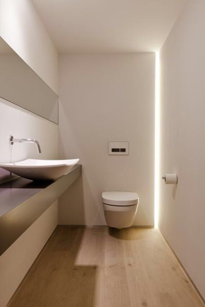 Beleuchtung Minimalistisches Badezimmer Bad Inspiration