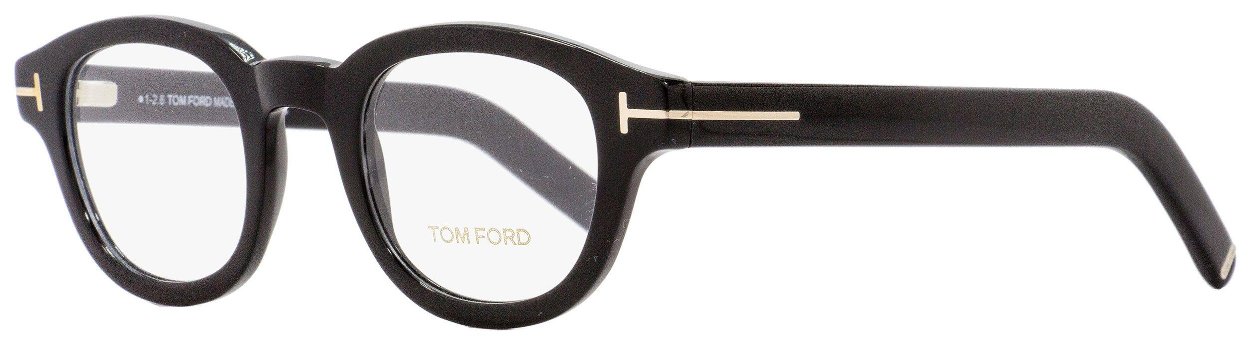 Tom Ford 5429 001 Shiny Black Eyeglasses TF5429 001 45mm