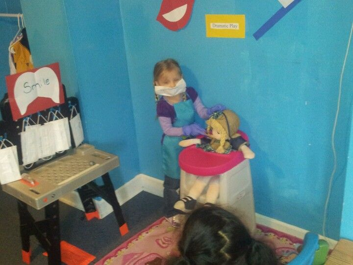 Dentist Dramatic Play | Dramatic play centers, Dramatic ... |Preschool Dramatic Play Dentist