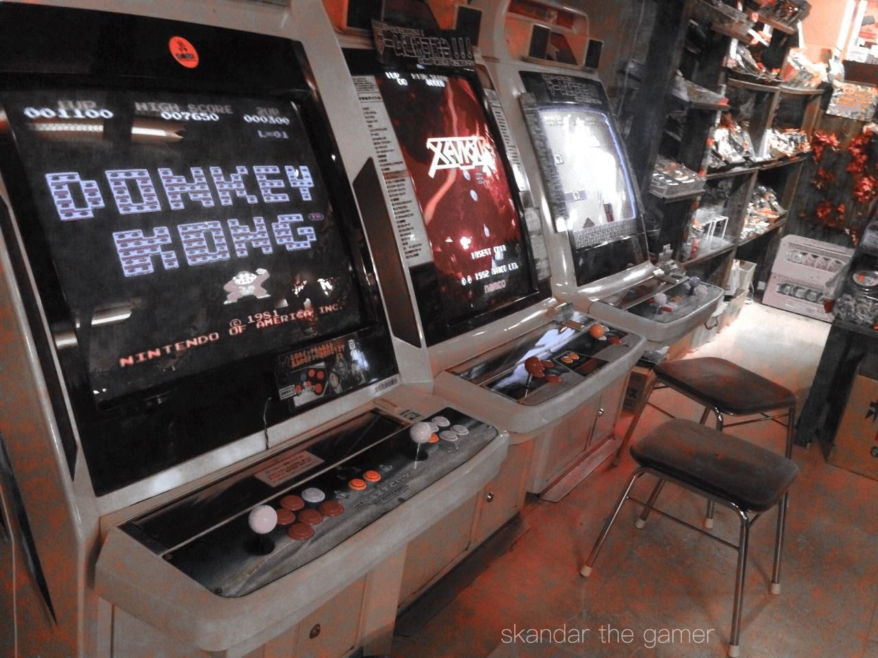 Skandar the Gamer Arcade bar, Video game music, Arcade