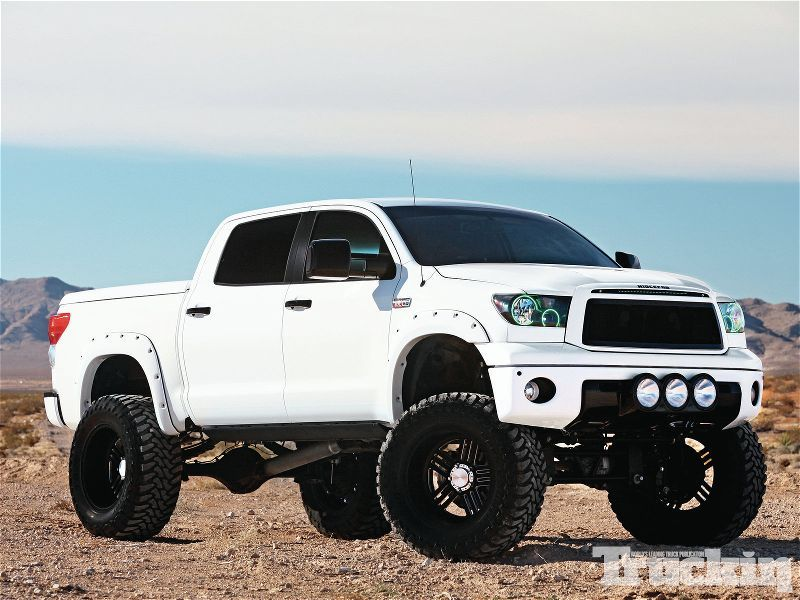 2008 Toyota Tundra Bulletproof 12 Inch Lift Kit Except Electric Blue With The Other Pins Related To This Beautiful Truck