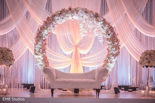 Majestic Indian Wedding Reception Mandap By Houseofdipali