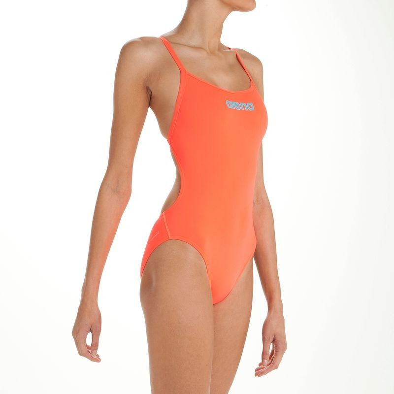 Natation High Rouge 1 Femme Mast Fluo Maillots Pièce Maillot vmwO8N0n