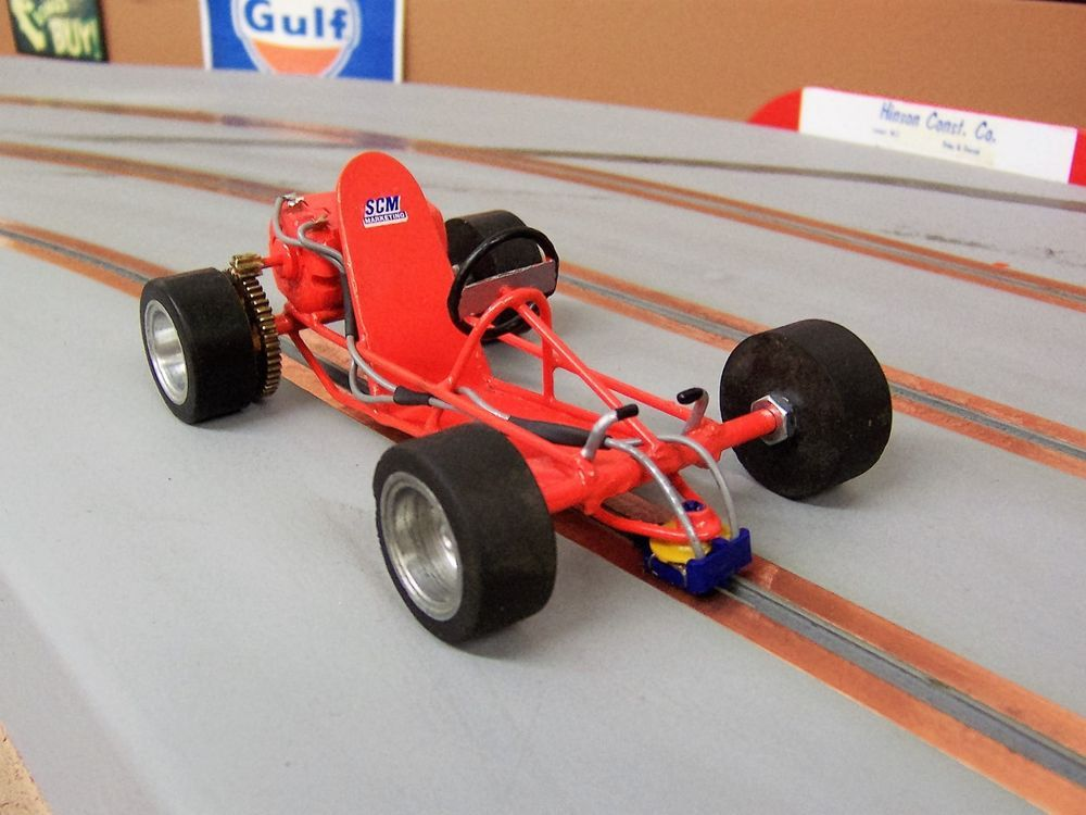 how to build a slot car track 1 24
