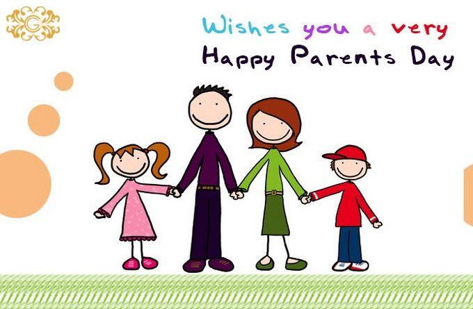Wordpress Error Happy Parents Family Cartoon Parents Day