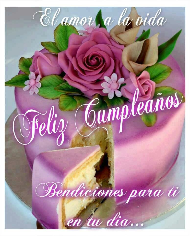 Feliz cumpleaños! Garden Pinterest Happy birthday, Birthdays and Birthday messages
