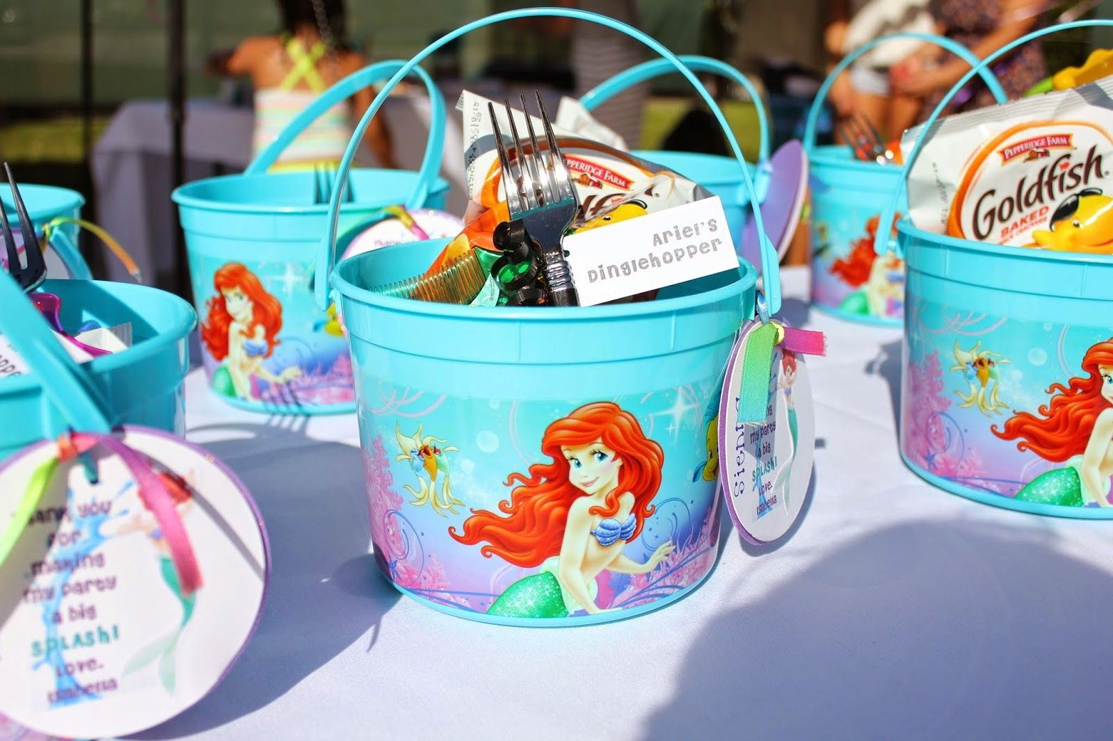 Entertaining Little Mermaid Inspired Party Mermaid Party Decorations Mermaid Party Favors Mermaid Birthday Party