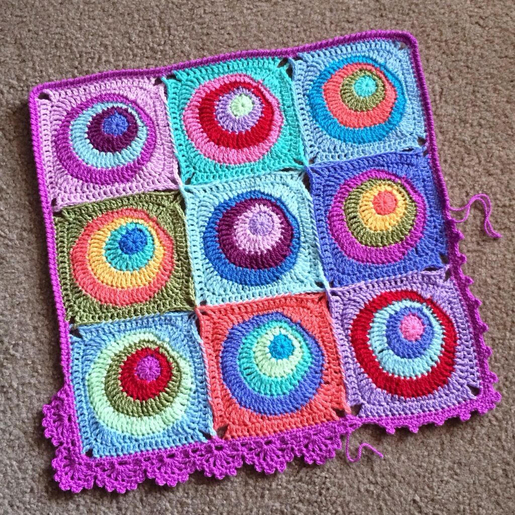 Offset circle blanket BabyLove Brand | Blankies | Pinterest | Square ...