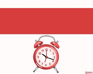 Desk Clock PowerPoint Template is a free PPT template with