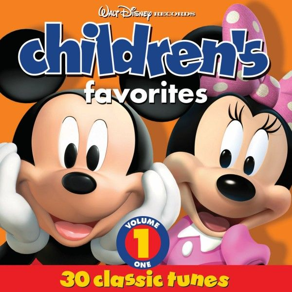 Disney Children S Favorites Vol 1 Music For Kids Kids Songs Disney Records