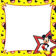 minnie mouse ideas clipart best clipart best card insides rh pinterest ca disney princess clip art borders Mickey Mouse Borders and Frames