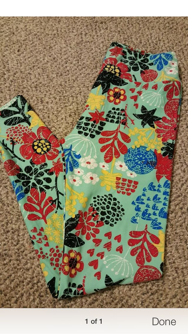 Lularoe leggings red yellow blue floral | LulaRoe | Pinterest | Floral Lula roe and Clothes