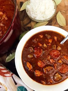 Authentic Chicken And Smoked Sausage Gumbo Recipe Sausage Gumbo Gumbo Food Recipes