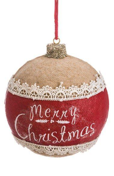 Allstate Merry Christmas Ball Ornament Nordstrom Christmas Balls Painted Christmas Ornaments Fabric Christmas Ornaments