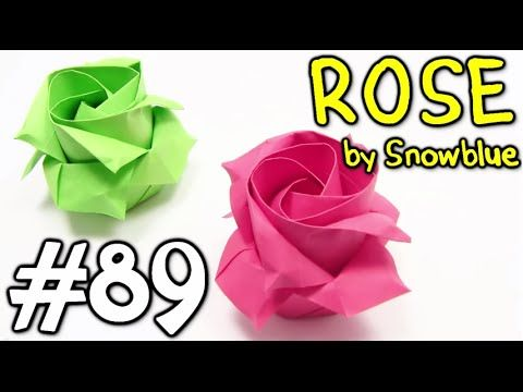 89 origami rose easy origami yakomoga origami tutorial stephies this origami video i will show you how to make fold paper fantastic cool origami rose easy designed by snowblue origami flower diagram and origami mightylinksfo
