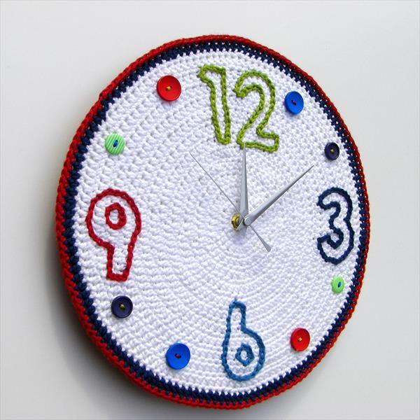 DIY Crochet Wall Clock Pattern | 101 Crochet
