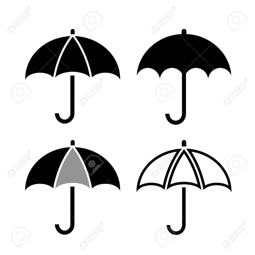 Umbrella Vector Icon Vector Icons Umbrella Vector