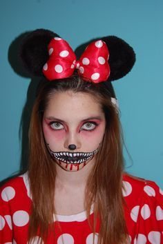 Image Result For Scary Minnie Mouse Costumes