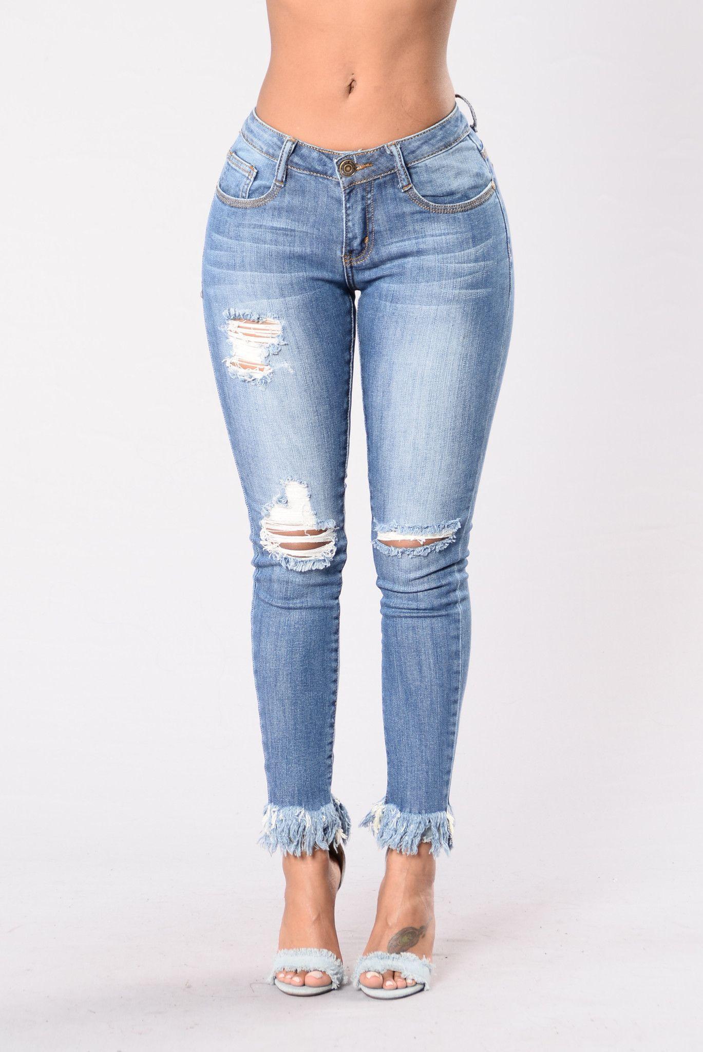 Shy Girl Jeans - Medium
