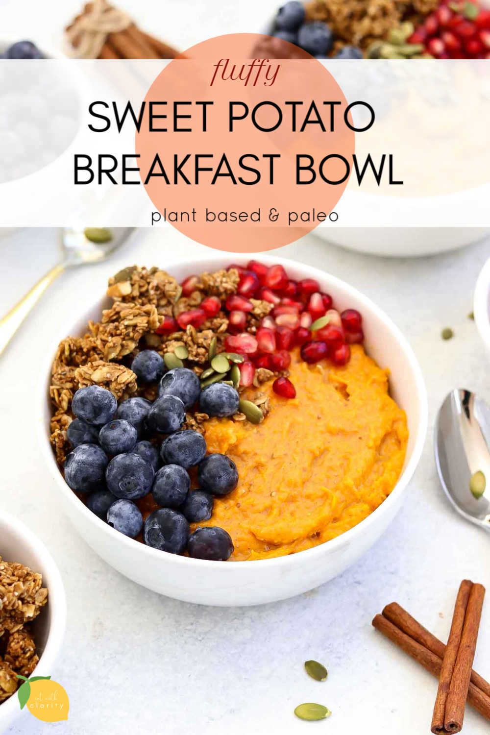 Sweet Potato Breakfast Bowl images