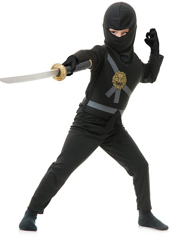 Boy's Black Ninja Avenger Costume | Halloween Costumes