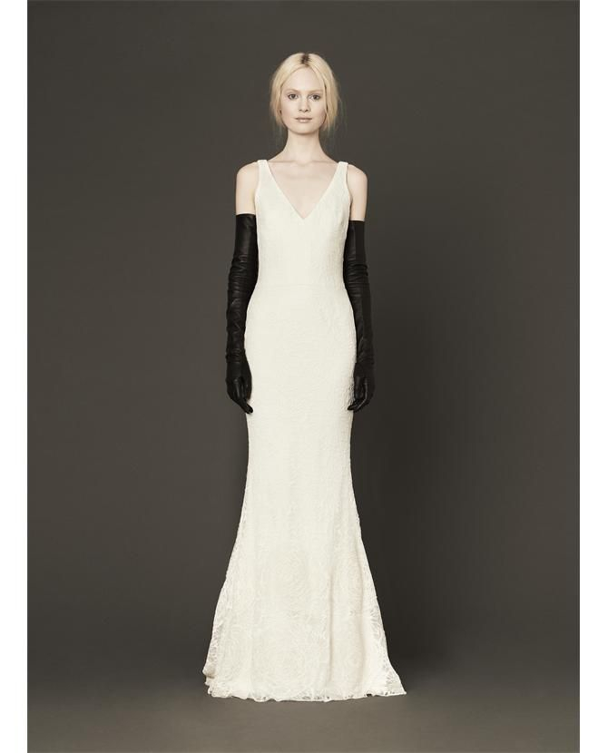 Discount Designer Wedding Gowns: VERA WANG 'Mallory' Bridal Gown