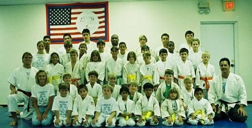 School Ju Jitsu team