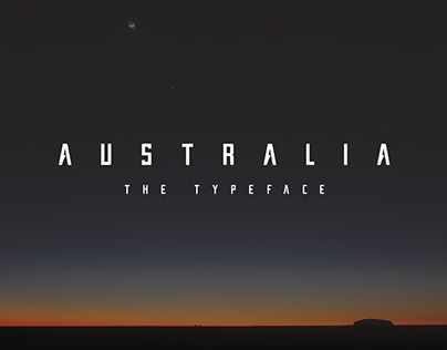 "Check out new work on my @Behance portfolio: ""Australia - The Typeface by Denver"" http://be.net/gallery/27882733/Australia-The-Typeface-by-Denver"