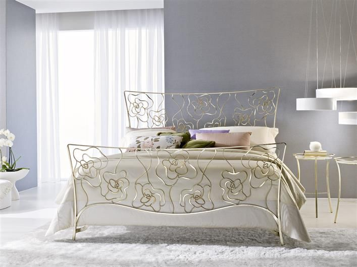 Letto tea bed ciacci classic wrought iron beds iron for Arredamenti case bellissime