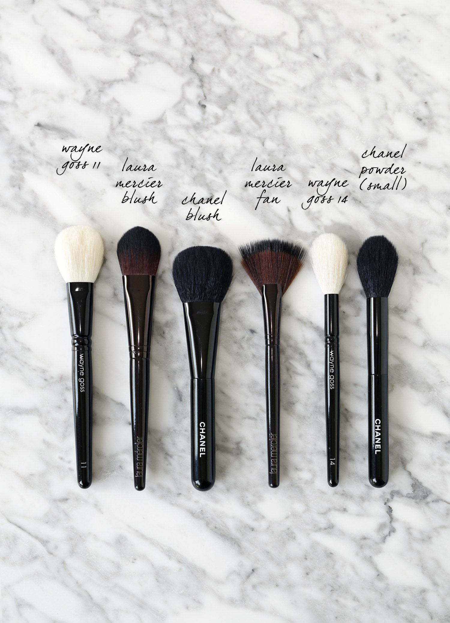 Top Makeup Brushes for the Face + Cheeks Top makeup